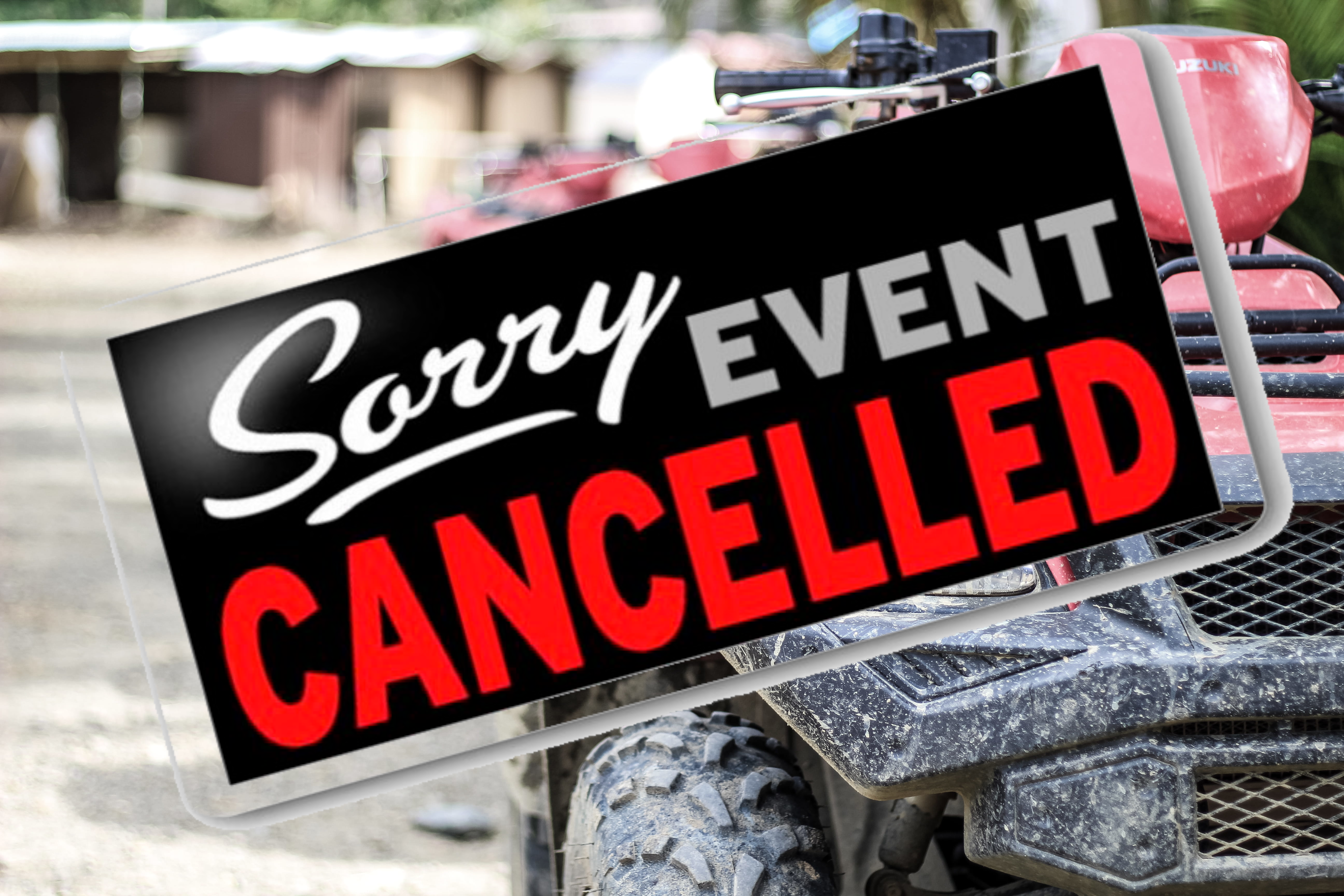 Sept 24-25 Ride Cancelled